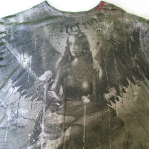 Affliction Graphic T-shirt, XL